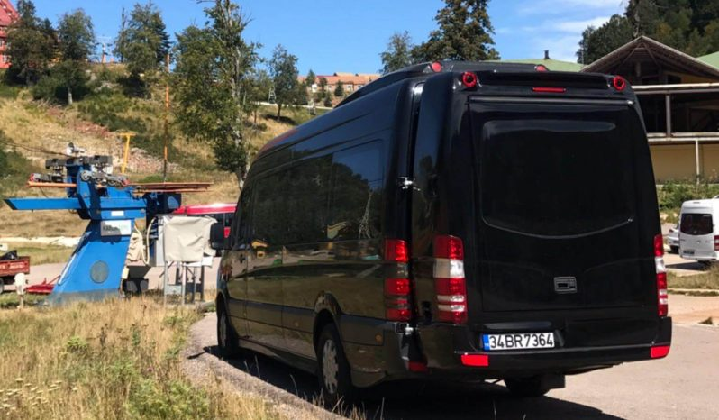 Şoförlü Merecedes Sprinter  Kiralama VİP & LÜX dolu