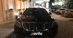 Şöförlü Mercedes S Class | ULTRA LUX